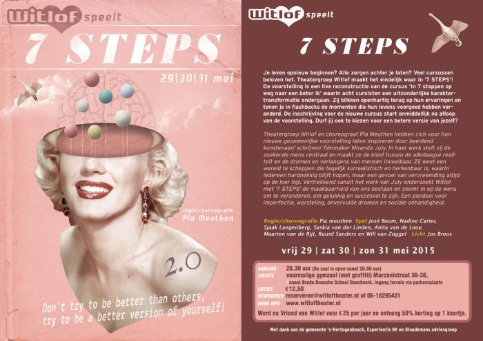a witlof flyer 7 steps
