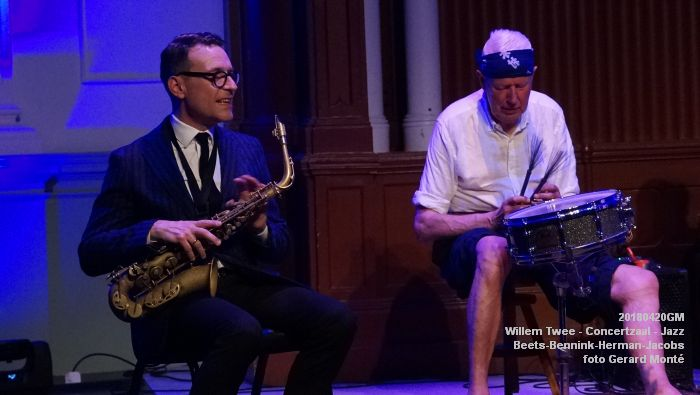 eDSC04071- Willem Twee - Jazz op vrijdag in de Concertzaal - Beets-Bennink-Herman-Jacobs - 20april2018 - foto GerardMontE web
