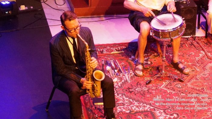 eDSC04092- Willem Twee - Jazz op vrijdag in de Concertzaal - Beets-Bennink-Herman-Jacobs - 20april2018 - foto GerardMontE web