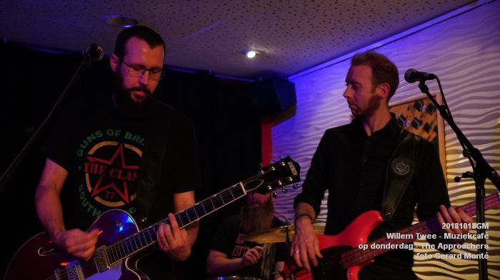 LDSC07328- Willem Twee - Muziekcafe - The Approachers - 18okt2018 -  foto GerardMontE web