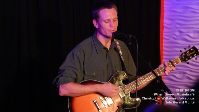 oDSC07953- Willem Twee - Muziekcafe - Christopher Walkman - 1nov2018 -  foto GerardMontE web