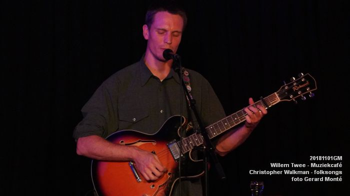 oDSC07955- Willem Twee - Muziekcafe - Christopher Walkman - 1nov2018 -  foto GerardMontE web