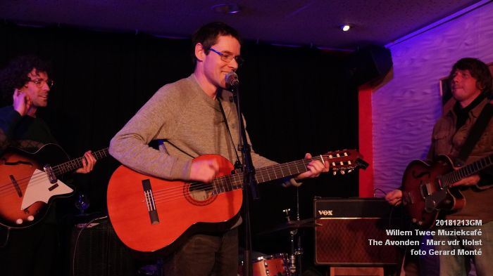 WDSC01441- Willem Twee Muziekcafe - The Avonden - Marc van der Holst- 13dec2018 -  foto GerardMontE web