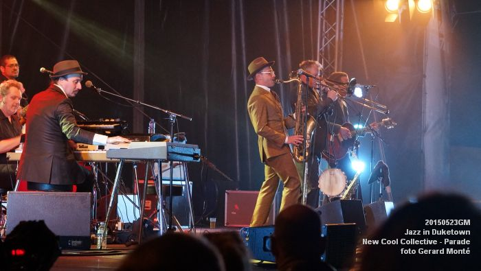 DSC07900- Jazz in Duketown - New Cool Collective - Parade - 23mei2015 -  foto GerardMontE web