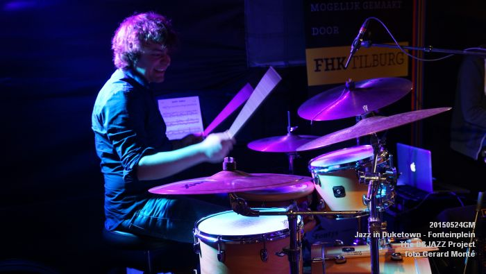 DSC08331- The D&JAZZ Project - Fonteinplein - 24mei2015 -  foto GerardMontE web