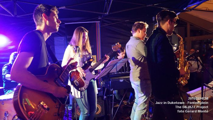 DSC08332- The D&JAZZ Project - Fonteinplein - 24mei2015 -  foto GerardMontE web