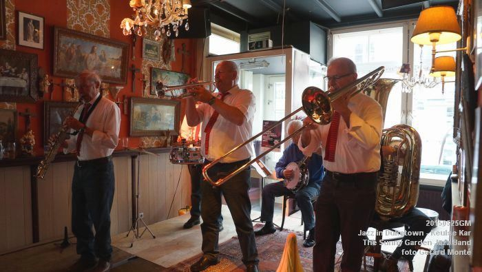 DSC08540- The Sunny Garden Jazz Band - Keulse Kar - 25mei2015 -  foto GerardMontE web