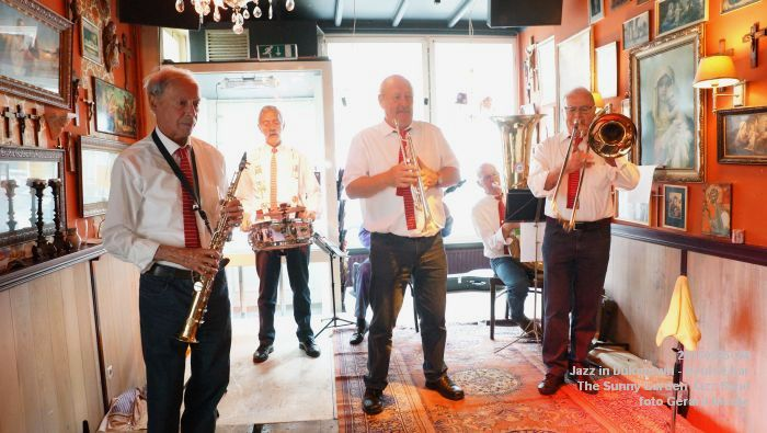DSC08542- The Sunny Garden Jazz Band - Keulse Kar - 25mei2015 -  foto GerardMontE web