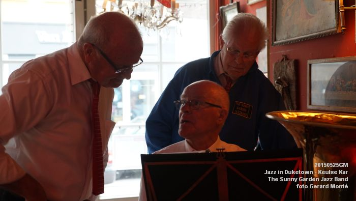 DSC08554- The Sunny Garden Jazz Band - Keulse Kar - 25mei2015 -  foto GerardMontE web