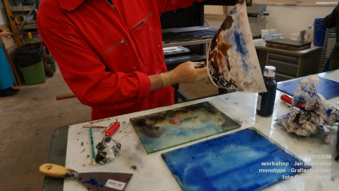 fDSC01374- verwantschap workshop monotype Jan Radersma in Grafisch atelier - 24jan2016 - foto GerardMontE web