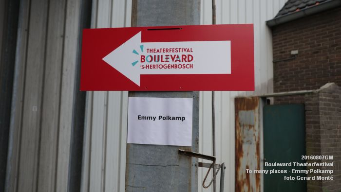 001cDSC09787- Boulevard Theaterfestival - locatie Tramkade To many places - Emmy Polkamp - 7aug2016 -  foto GerardMontE web